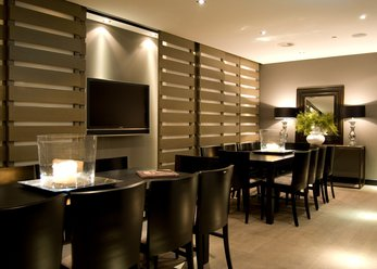 Restaurant & lounge, design style