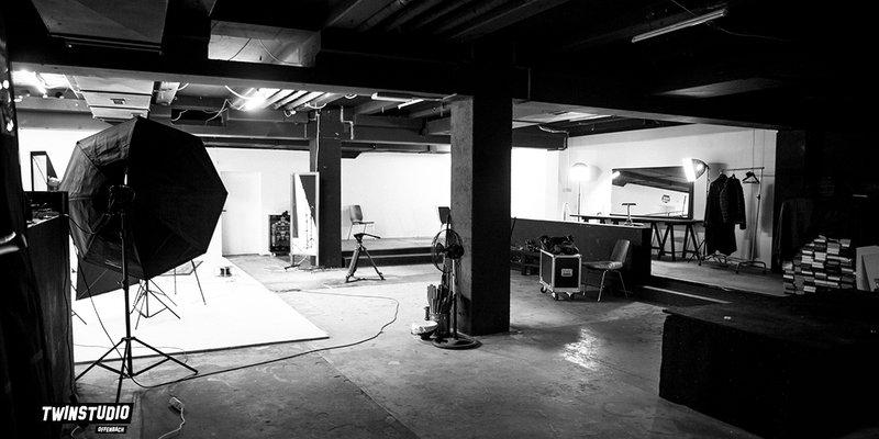 Studio mit Hohlkehle, ehemaliger Club