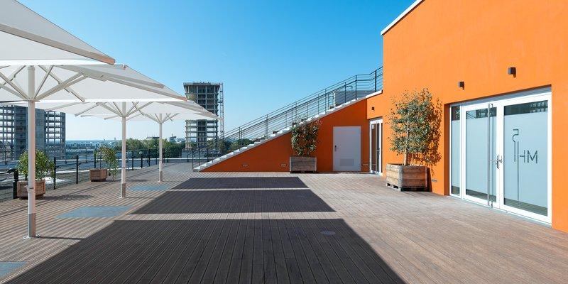 Event-LOFT auf 3 Ebenen, Pool und Terrasse