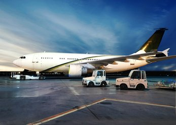 Airbus A310 für Film/Foto