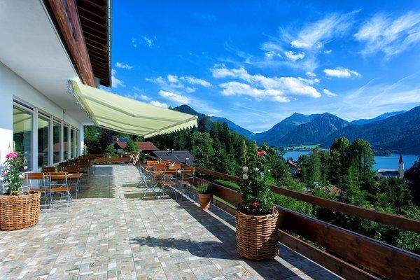 Location mit Blick auf Schliersee und Berge - Traumblick von unserer Sonnenterrasse