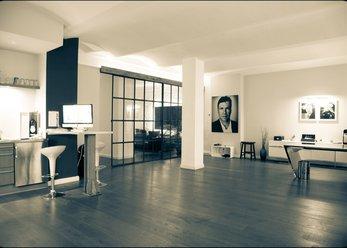 Altbau-Studio im kühlen LOFT-Flair