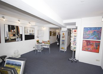 Gallery with Studio and exhibition space