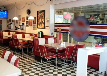 Original American Diner in the Centre