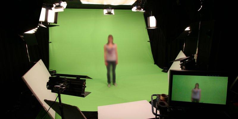 Filmstudio im Glockenbach mit Hohlkehle