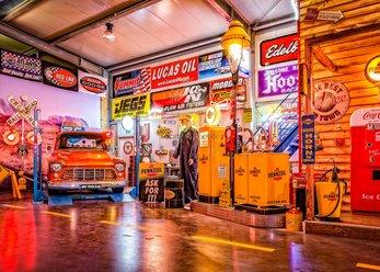 Werkstatt-Location für Film-/Foto