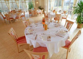Hotel Restaurant mit toller Aussicht